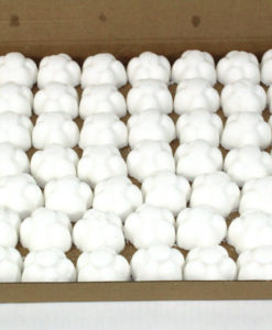 Bath Bombs Baby Powder scented 70 x 10g