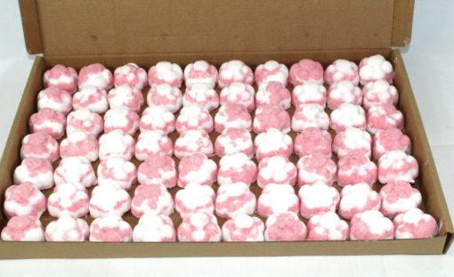 Raspberry Scented Bath Bombs